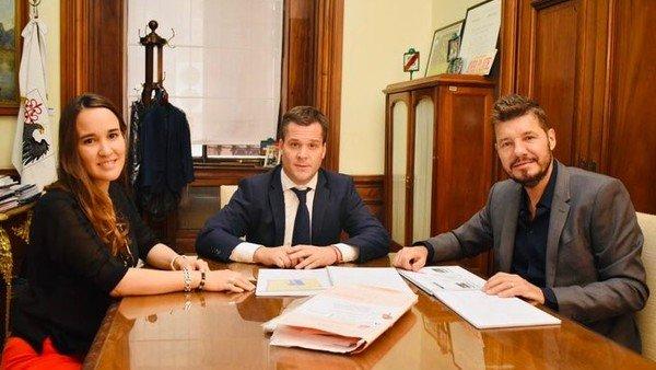 Marcelo Tinelli mantuvo una importante reunión en la Legislatura para San Lorenzo