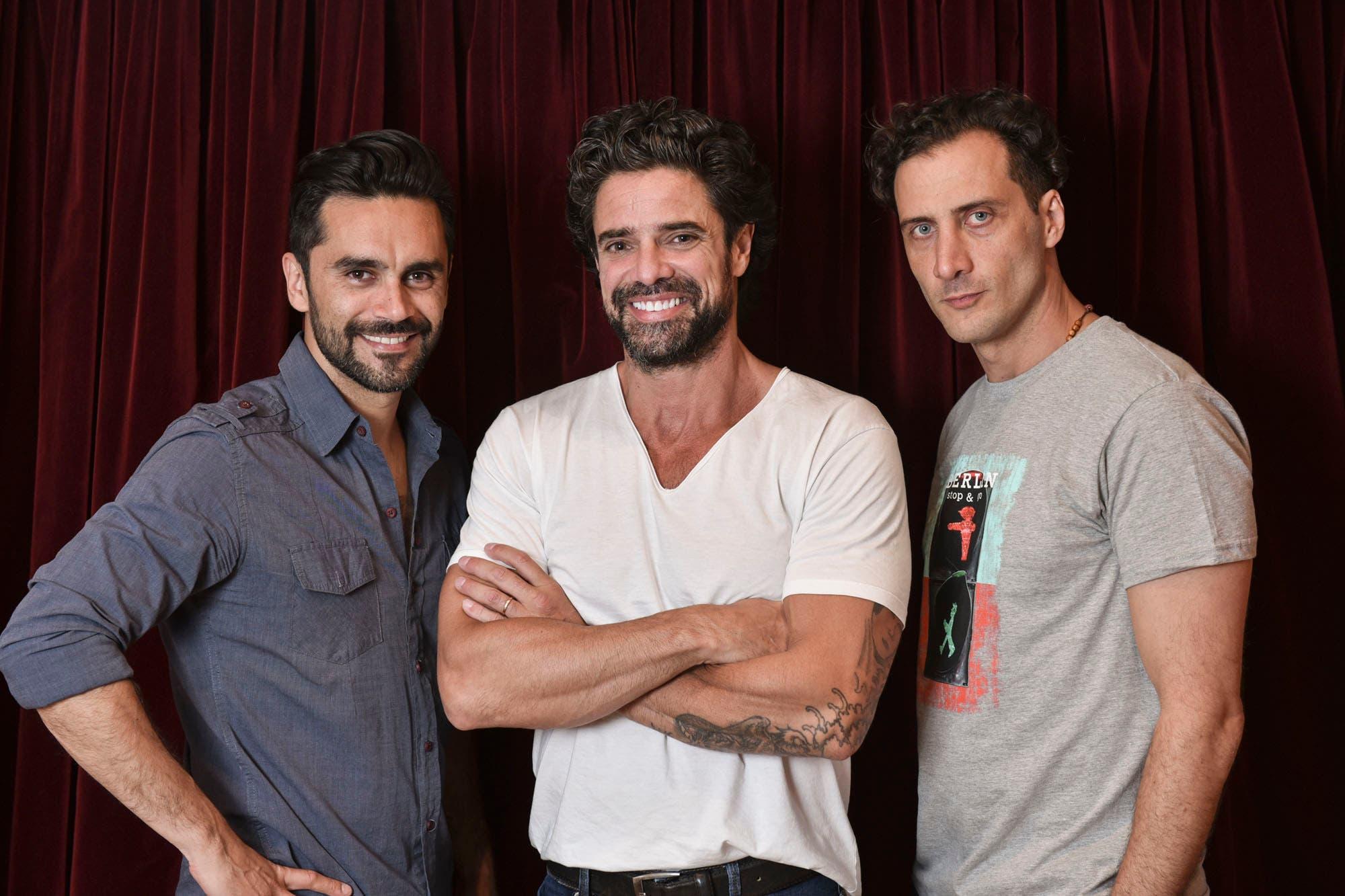 Luciano Castro, Gonzalo Heredia y Luciano Cáceres: cómo reconocer los cuerpos de sus parejas con los ojos vendados